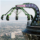 Insanity Ride at the Stratosphere Hotel Las Vegas