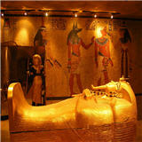 Pharaoh Tutankhamun at the Luxor Hotel Las Vegas