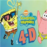 Sponge Bob Square Pants 4D at Excalibur Las Vegas